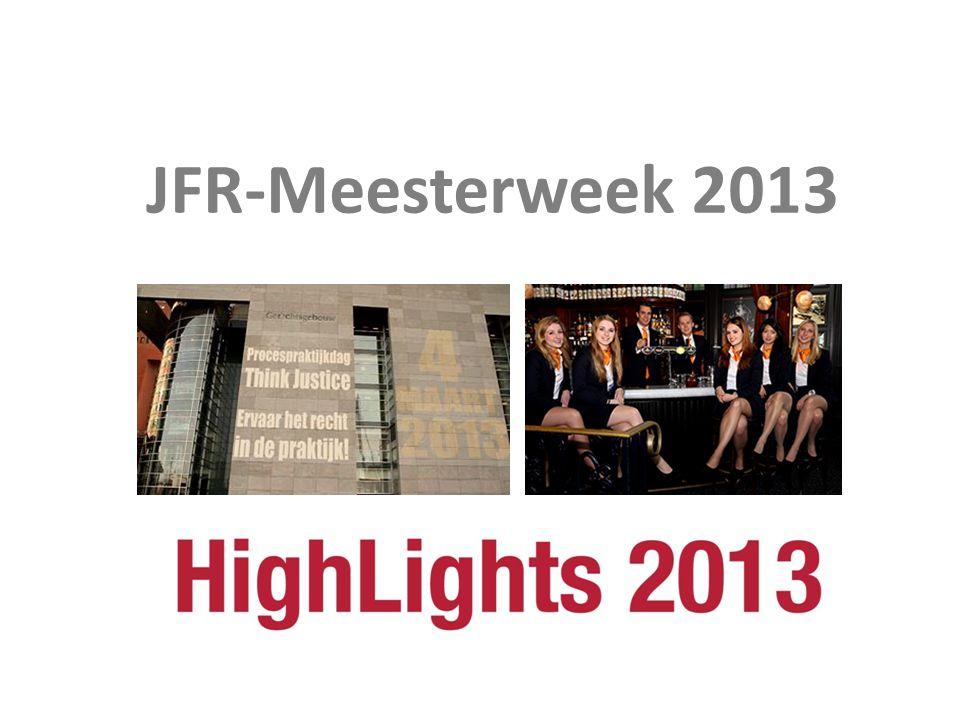 JFR-Meesterweek 2013 Meesterweek 2013