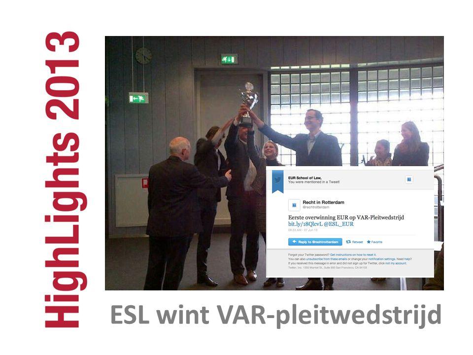 ESL wint VAR-pleitwedstrijd