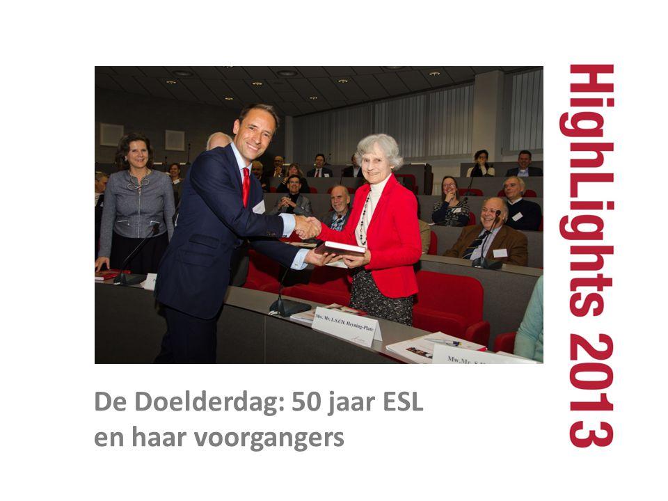 De Doelderdag: 50 jaar ESL en haar voorgangers