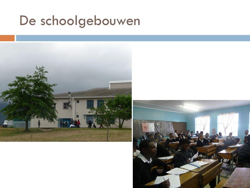 De schoolgebouwen