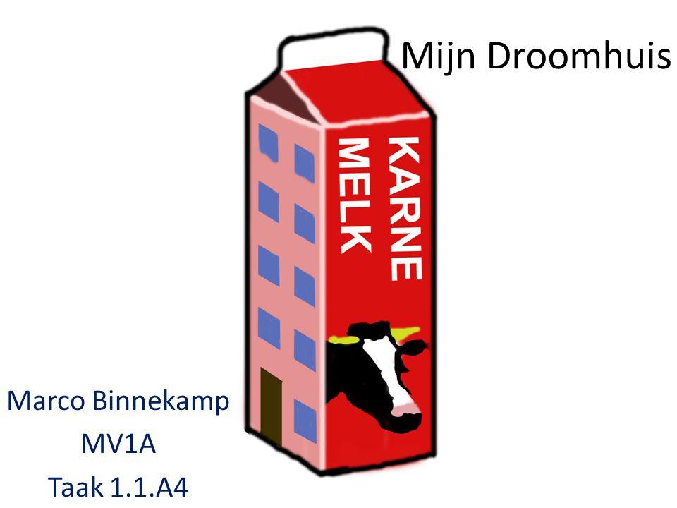 Marco Binnekamp MV1A Taak 1.1.A4