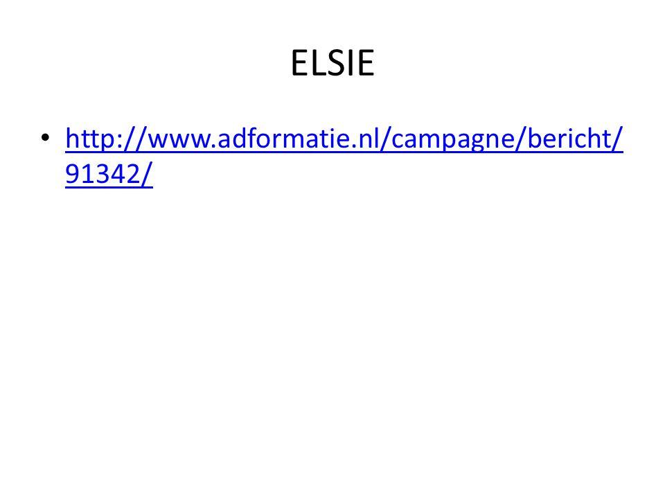 ELSIE http://www.adformatie.nl/campagne/bericht/91342/
