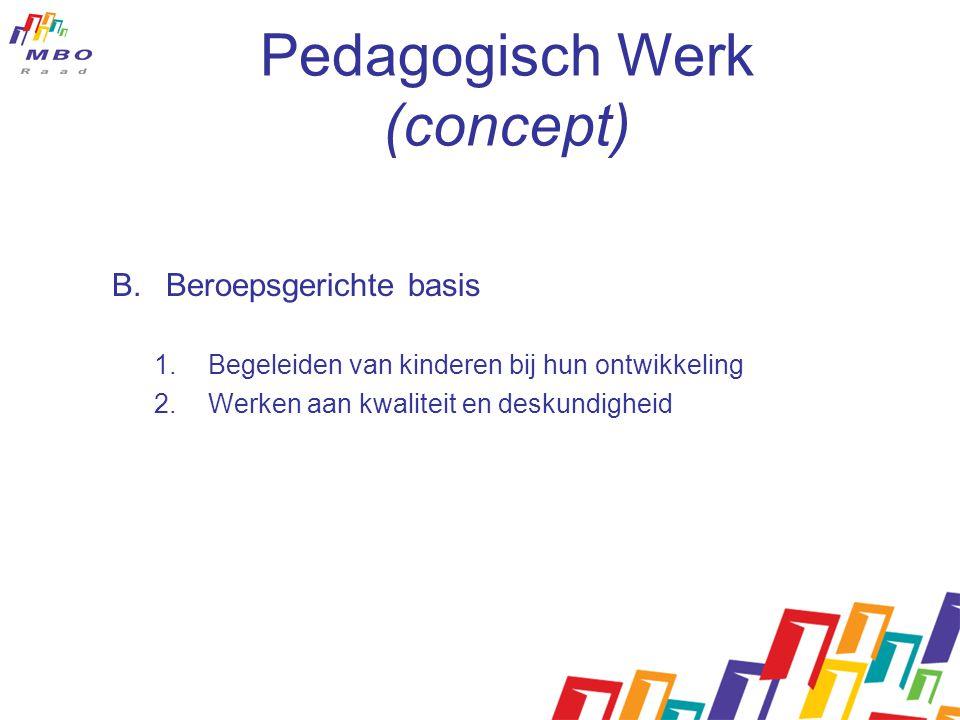 Pedagogisch Werk (concept)