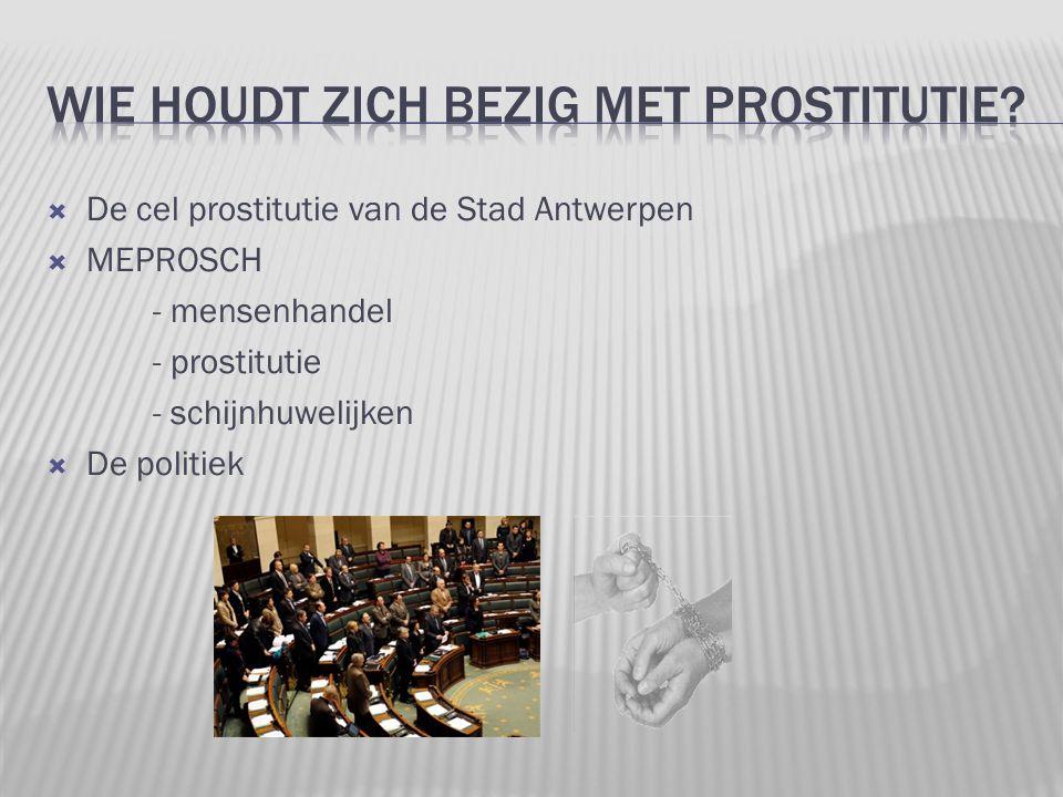 WIE HOUDT ZICH bezig met prostitutie