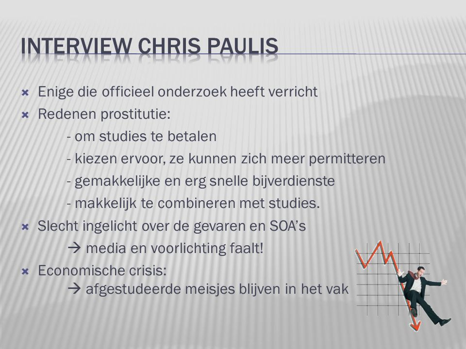 Interview chris paulis