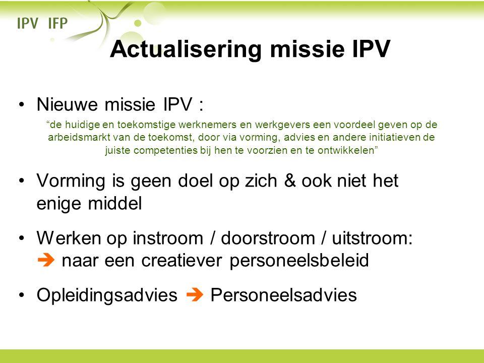 Actualisering missie IPV