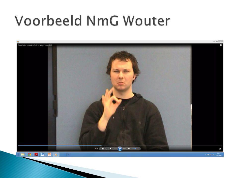 Voorbeeld NmG Wouter