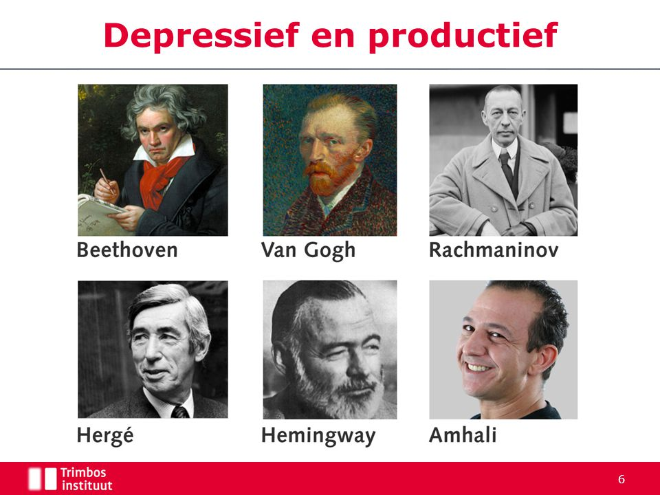 Depressief en productief