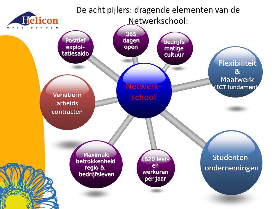 De acht pijlers: dragende elementen van de Netwerkschool: