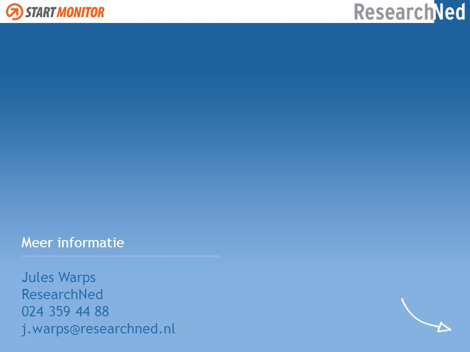 Meer informatie Jules Warps ResearchNed 024 359 44 88 j.warps@researchned.nl