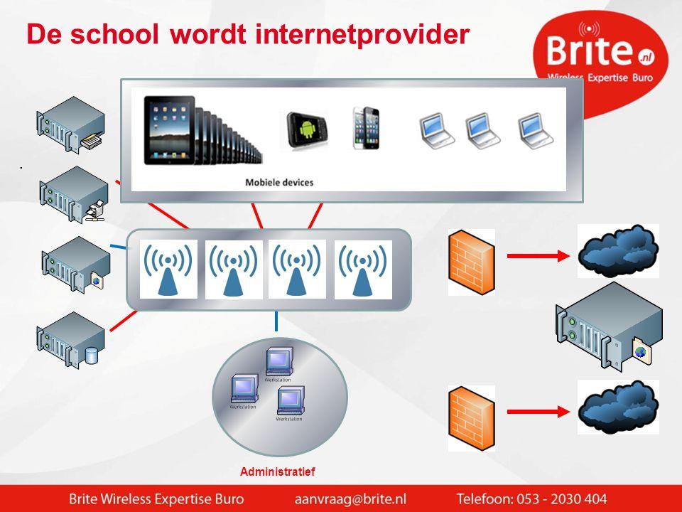 De school wordt internetprovider