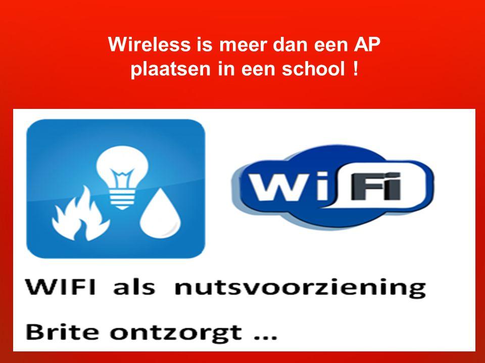 Wireless is meer dan een AP