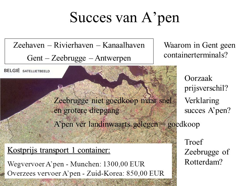 Succes van A'pen Zeehaven – Rivierhaven – Kanaalhaven