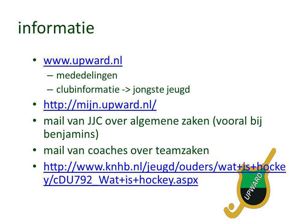 informatie www.upward.nl http://mijn.upward.nl/