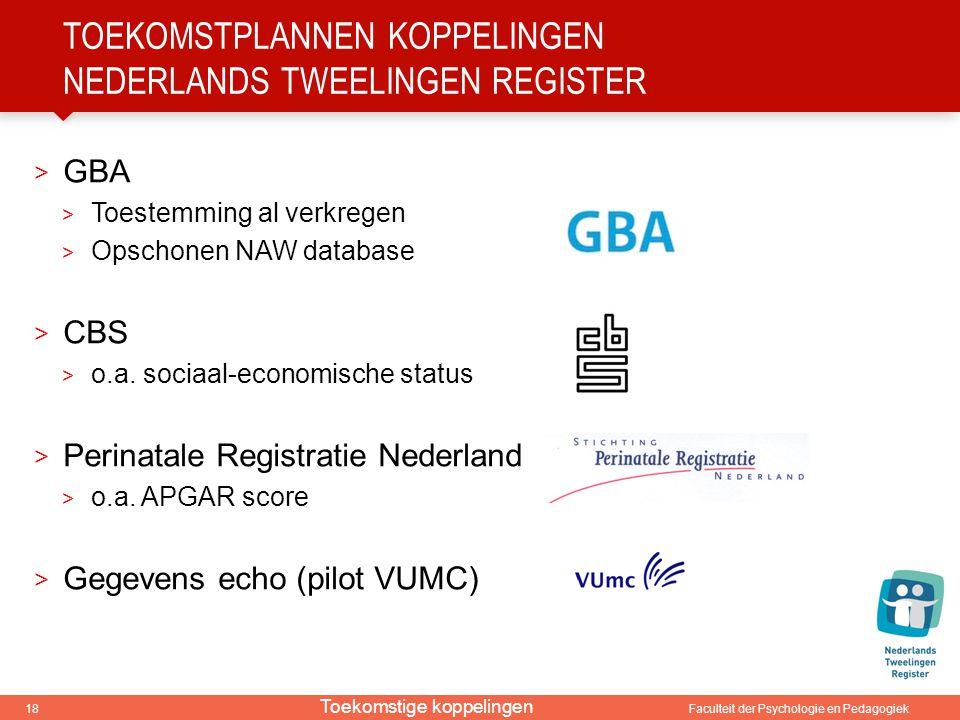 toekomstplannen koppelingen Nederlands tweelingen register