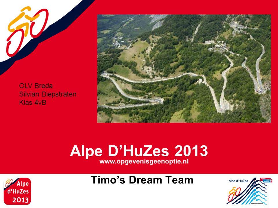 Alpe D'HuZes 2013 Timo's Dream Team OLV Breda Silvian Diepstraten