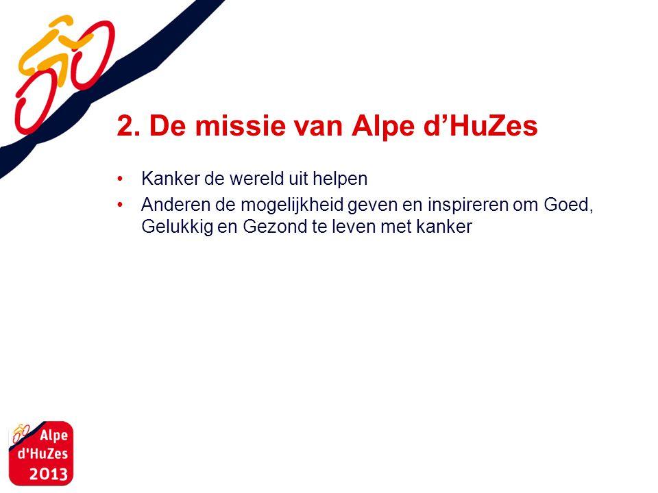 2. De missie van Alpe d'HuZes
