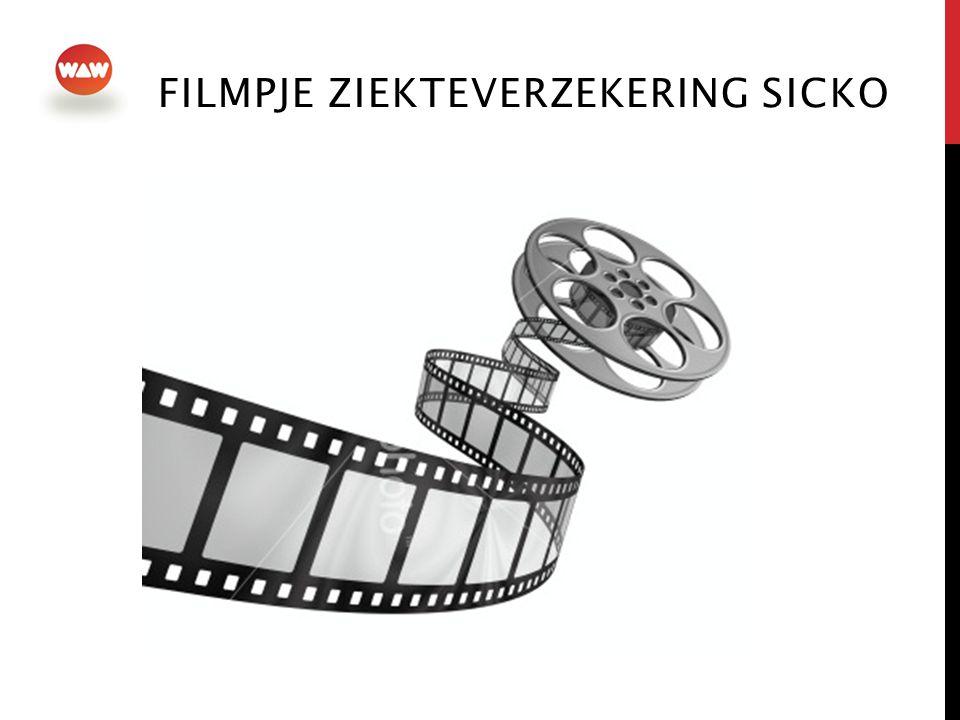 Filmpje ziekteverzekering Sicko