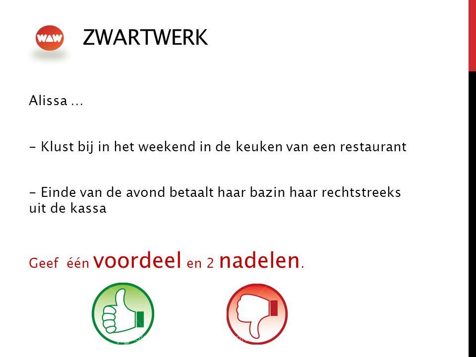 ZWARTWERK Alissa … - Klust bij in het weekend in de keuken van een restaurant.