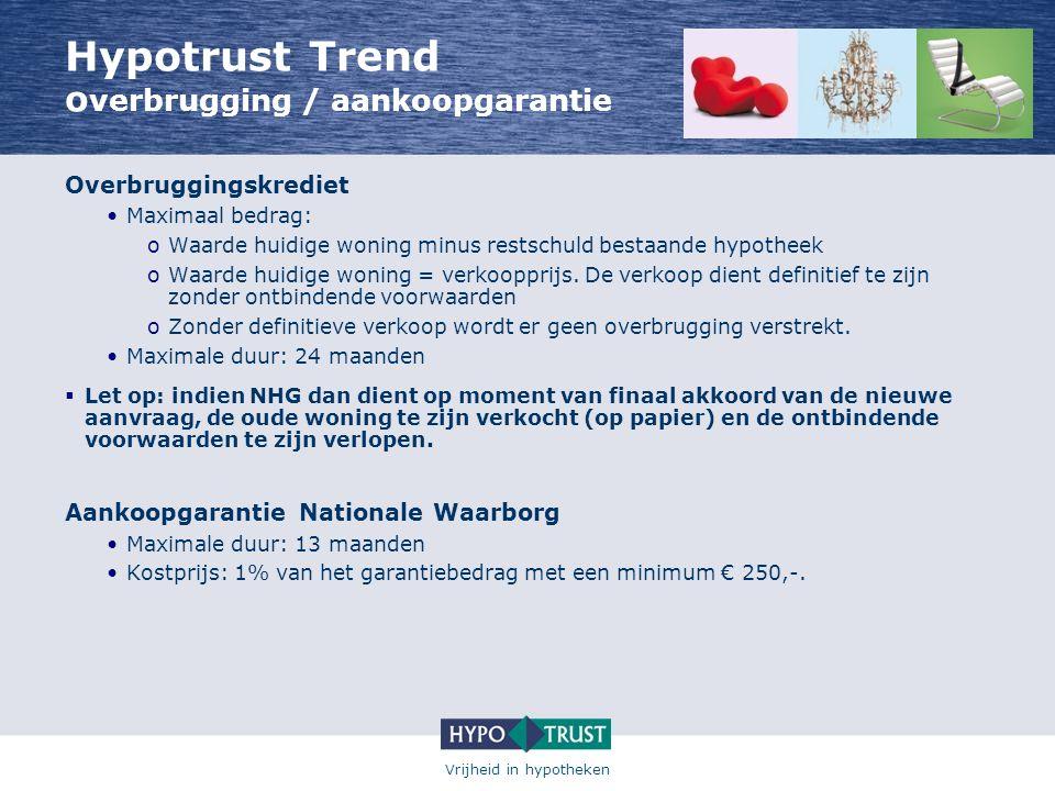 Hypotrust Trend overbrugging / aankoopgarantie