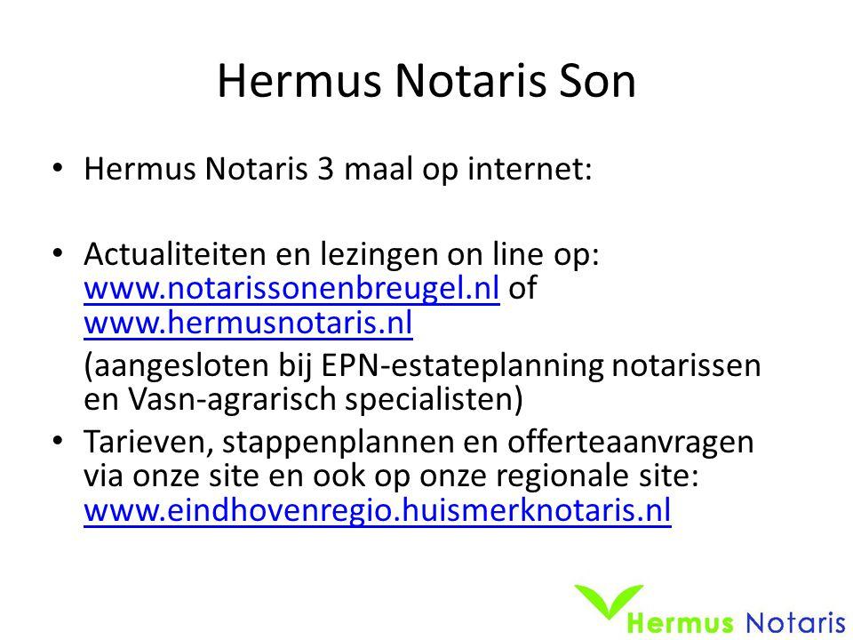 Hermus Notaris Son Hermus Notaris 3 maal op internet: