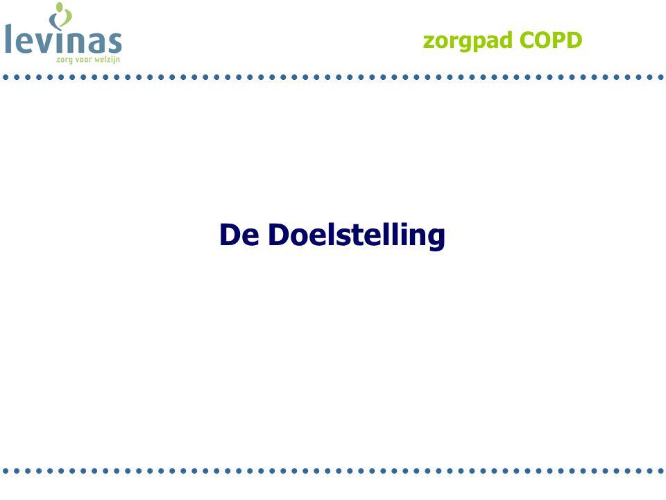 zorgpad COPD De Doelstelling Rob 13
