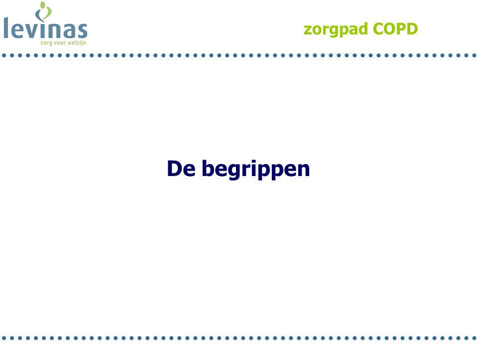 zorgpad COPD De begrippen Rob 19