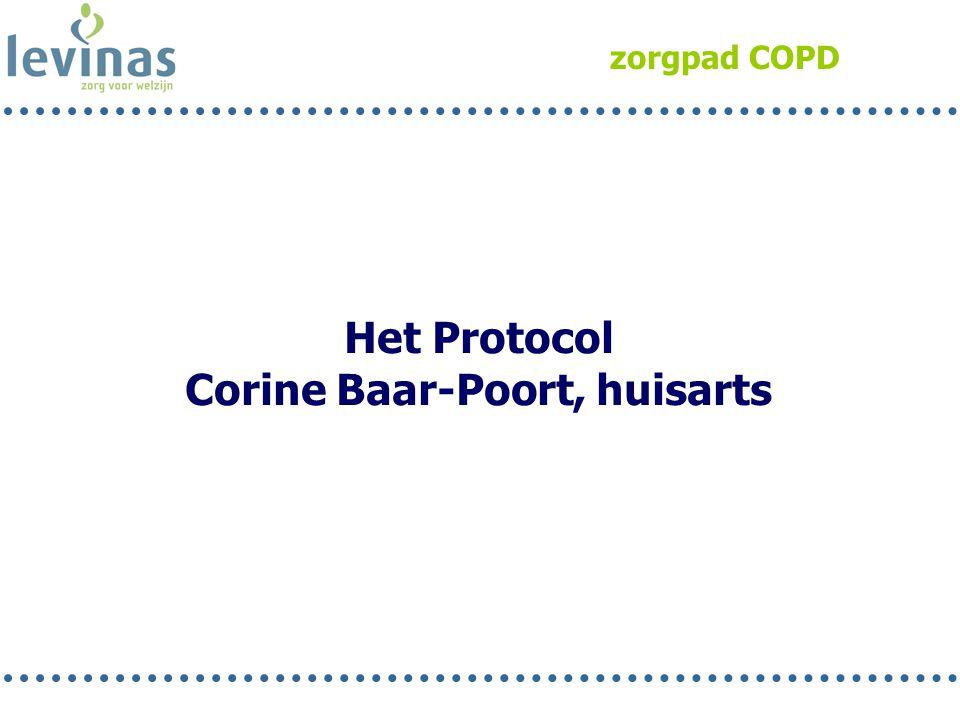 Corine Baar-Poort, huisarts