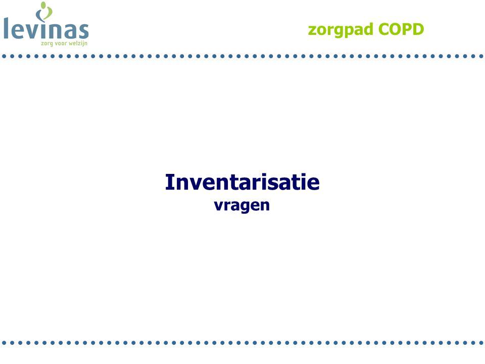 zorgpad COPD Inventarisatie vragen Rob 3