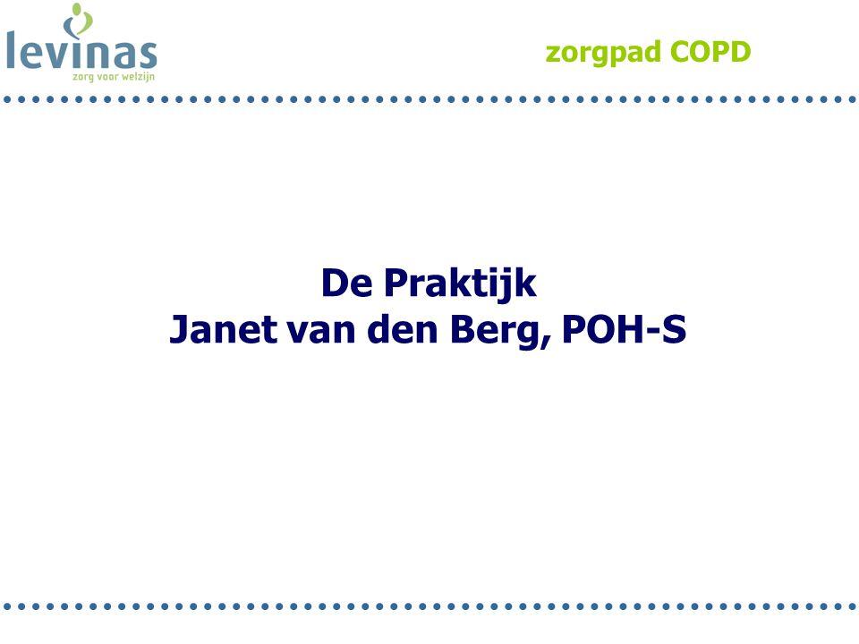 Janet van den Berg, POH-S