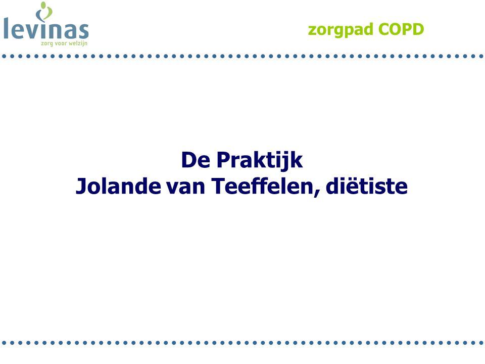 Jolande van Teeffelen, diëtiste