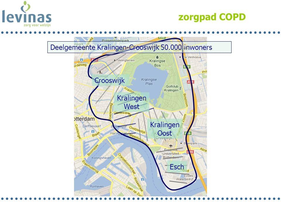 zorgpad COPD Deelgemeente Kralingen-Crooswijk 50.000 inwoners