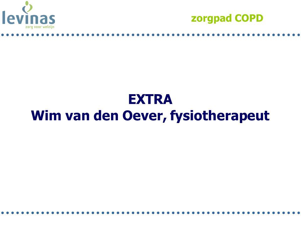 Wim van den Oever, fysiotherapeut