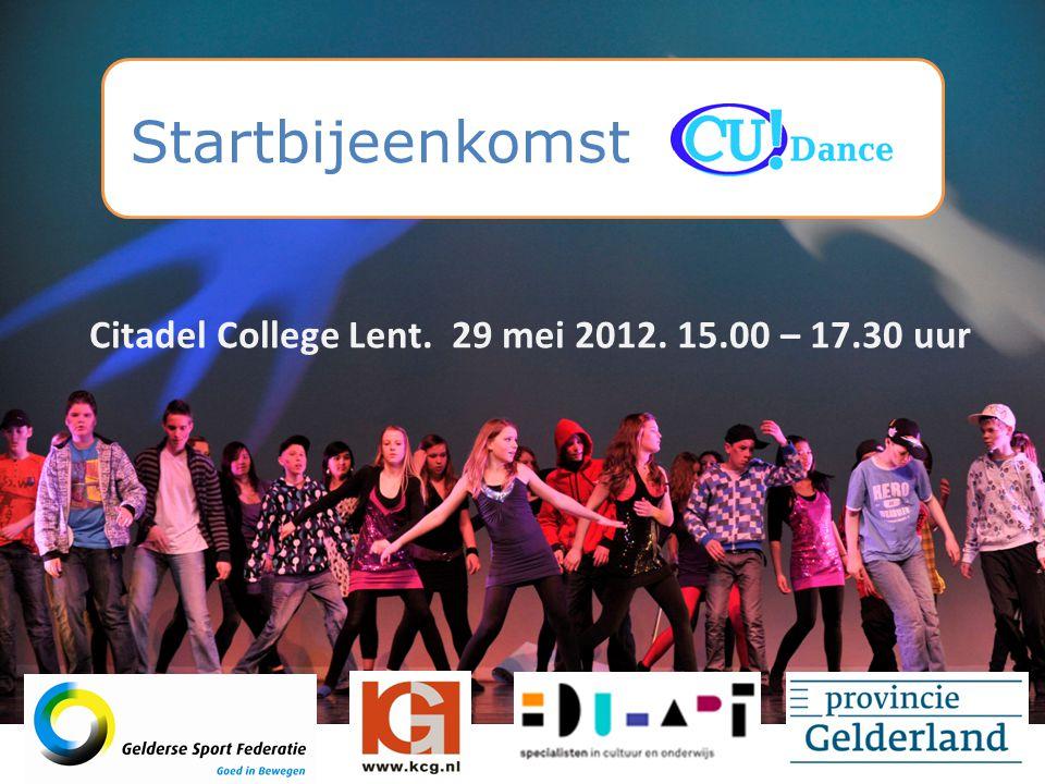 Citadel College Lent. 29 mei 2012. 15.00 – 17.30 uur