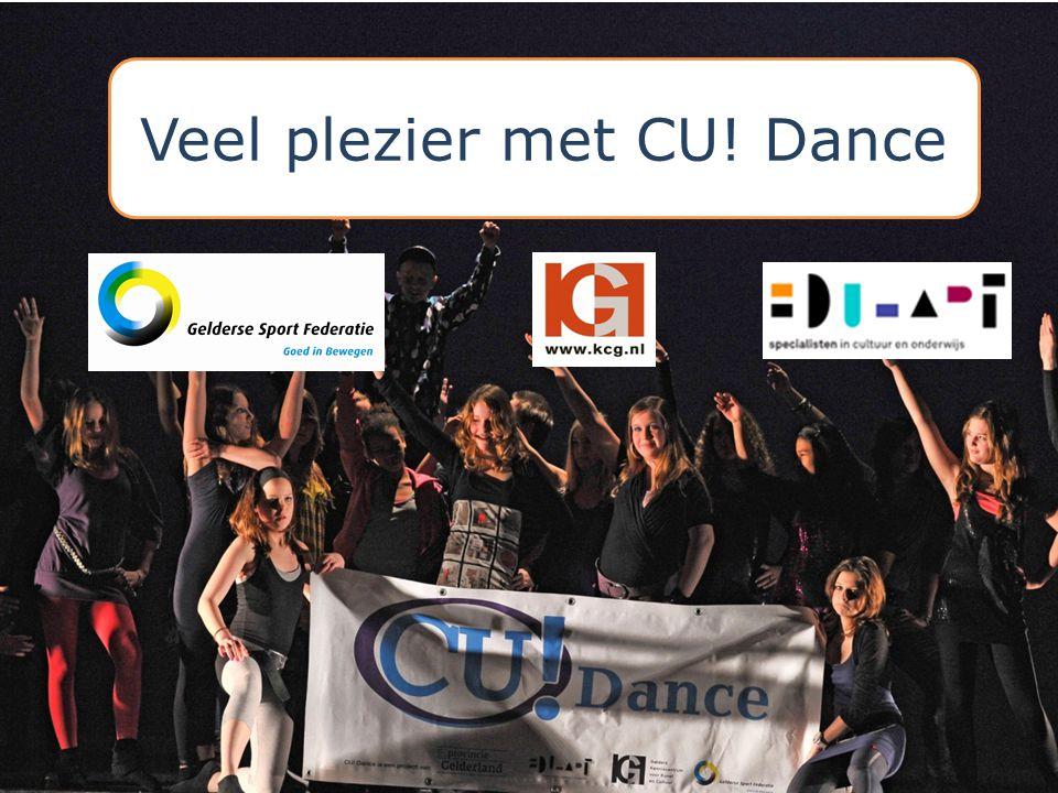 Veel plezier met CU! Dance