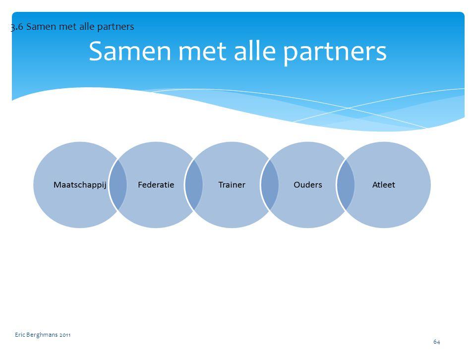 Samen met alle partners