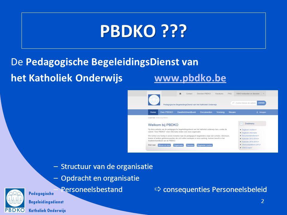 PBDKO De Pedagogische BegeleidingsDienst van