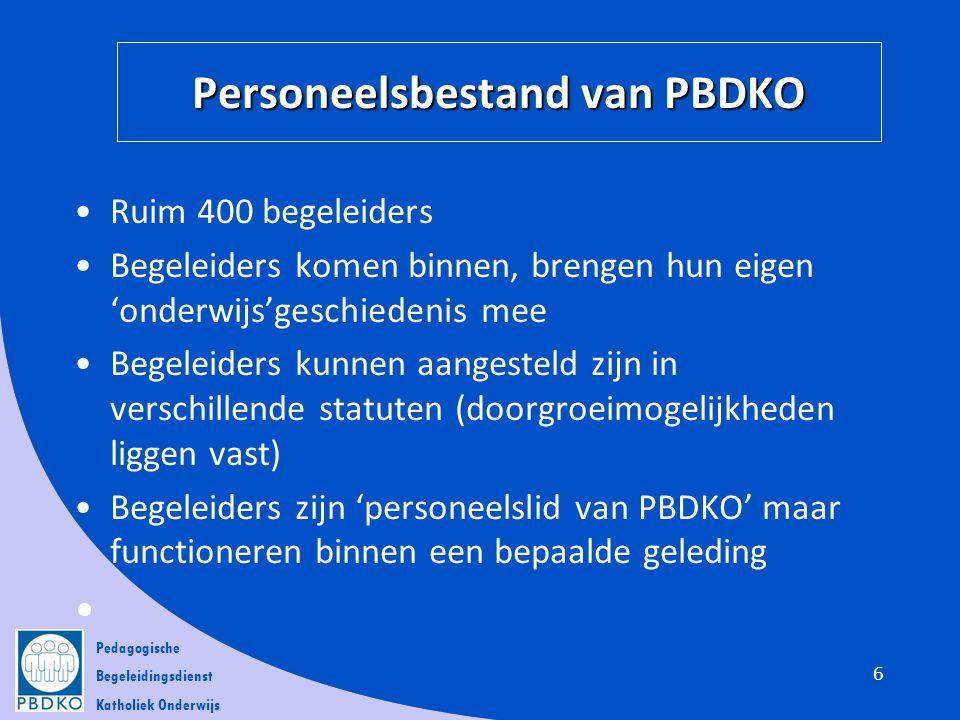 Personeelsbestand van PBDKO