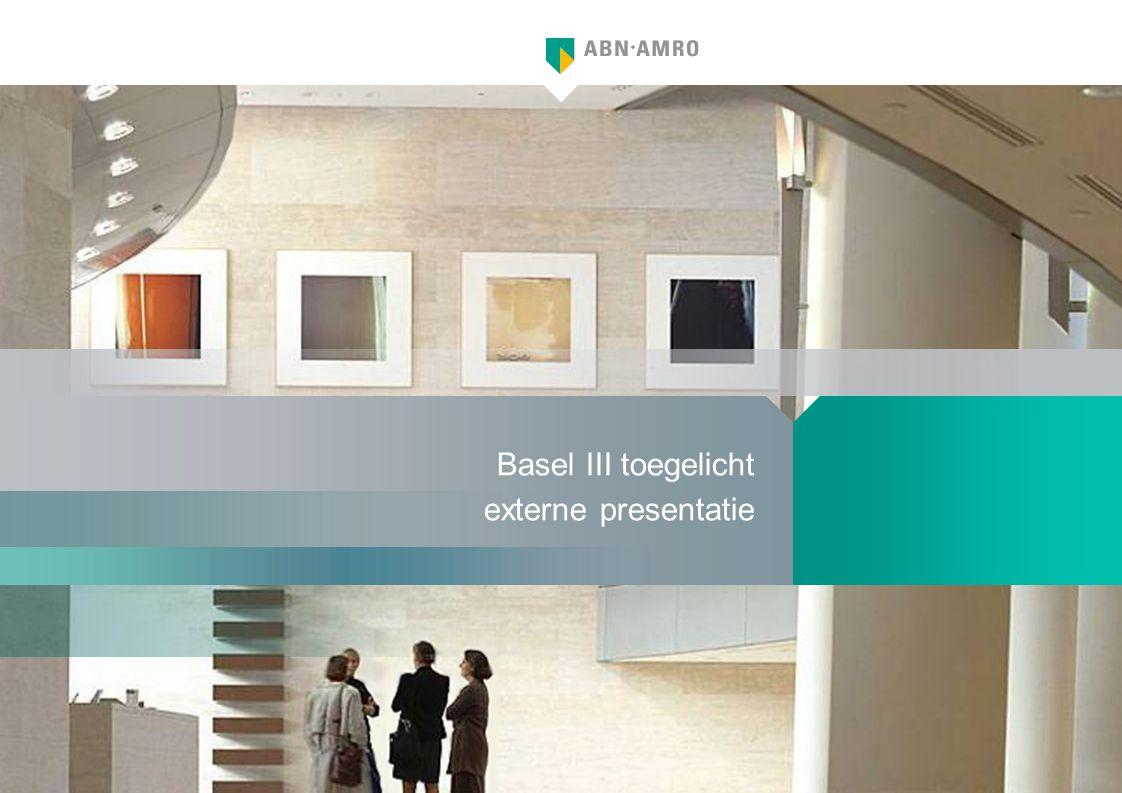 Basel III toegelicht externe presentatie