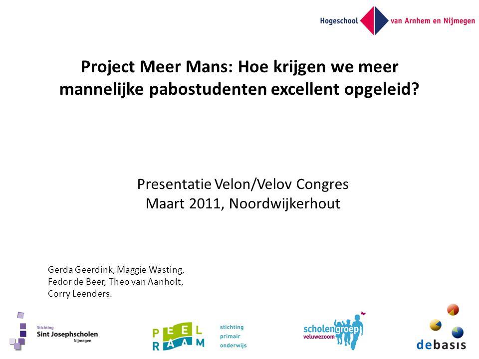 Presentatie Velon/Velov Congres Maart 2011, Noordwijkerhout