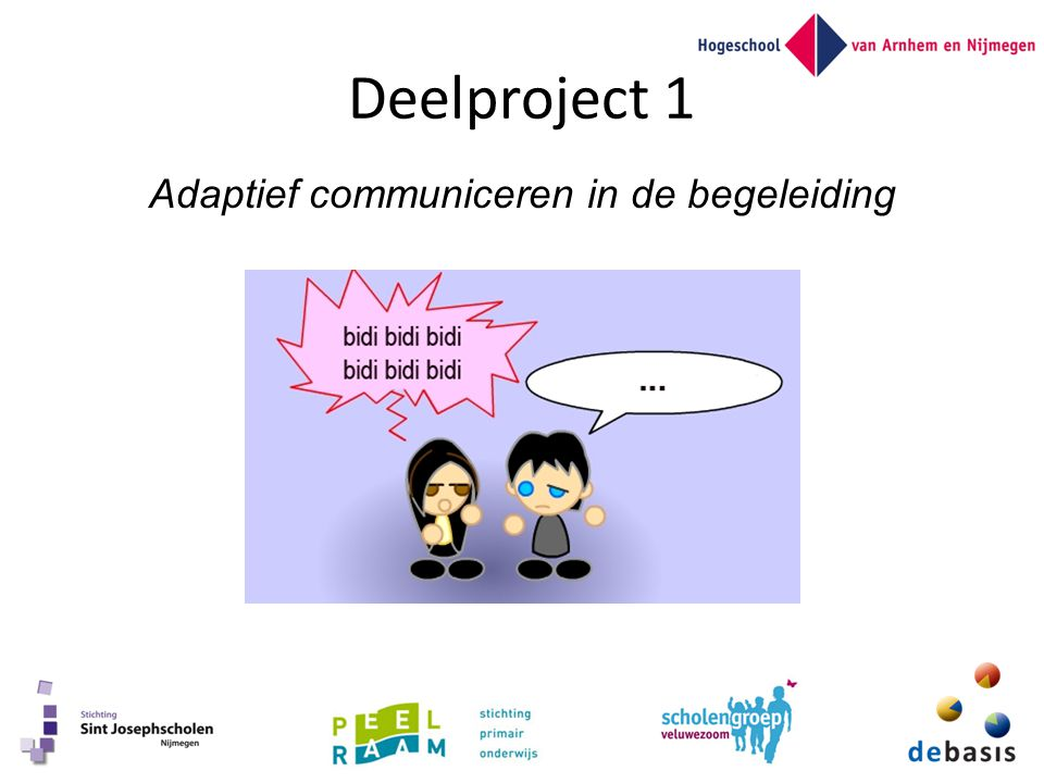 Adaptief communiceren in de begeleiding