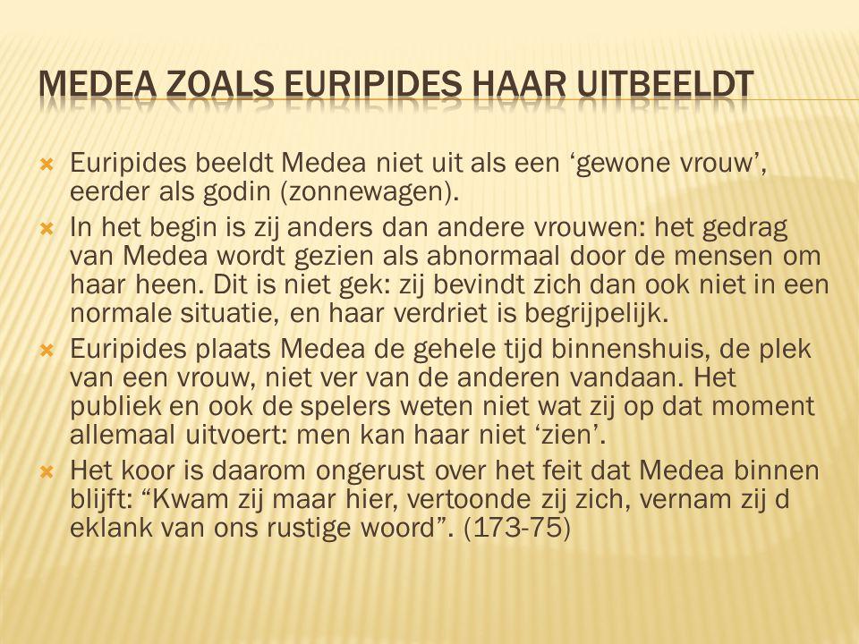 Medea zoals Euripides haar uitbeeldt