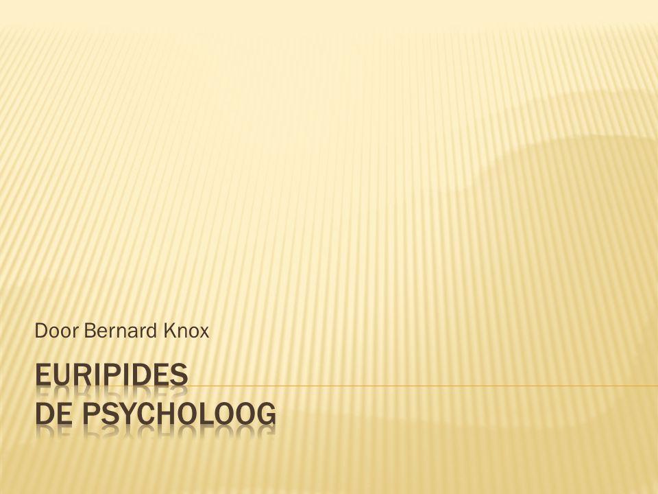 Euripides De psycholoog