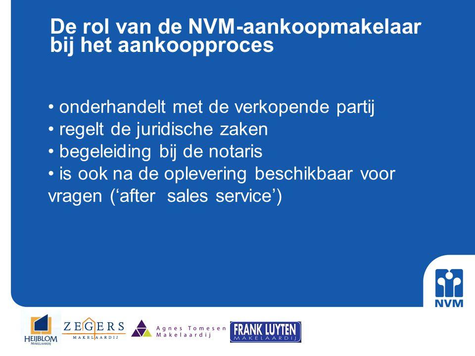De rol van de NVM-aankoopmakelaar bij het aankoopproces