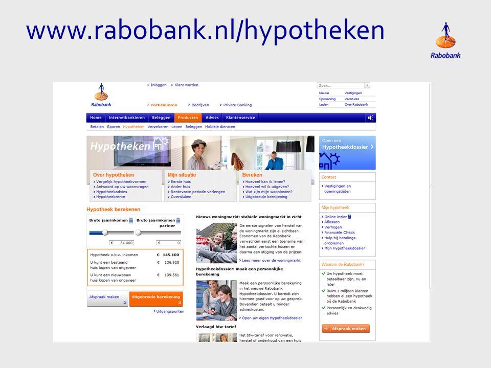 www.rabobank.nl/hypotheken