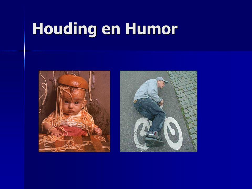 Houding en Humor