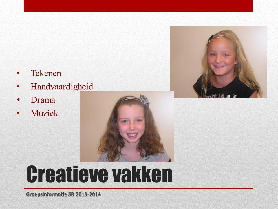 Creatieve vakken Tekenen Handvaardigheid Drama Muziek