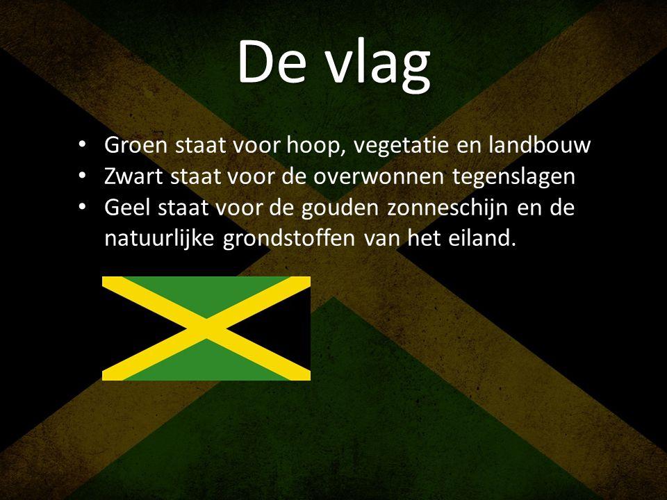 De vlag Groen staat voor hoop, vegetatie en landbouw