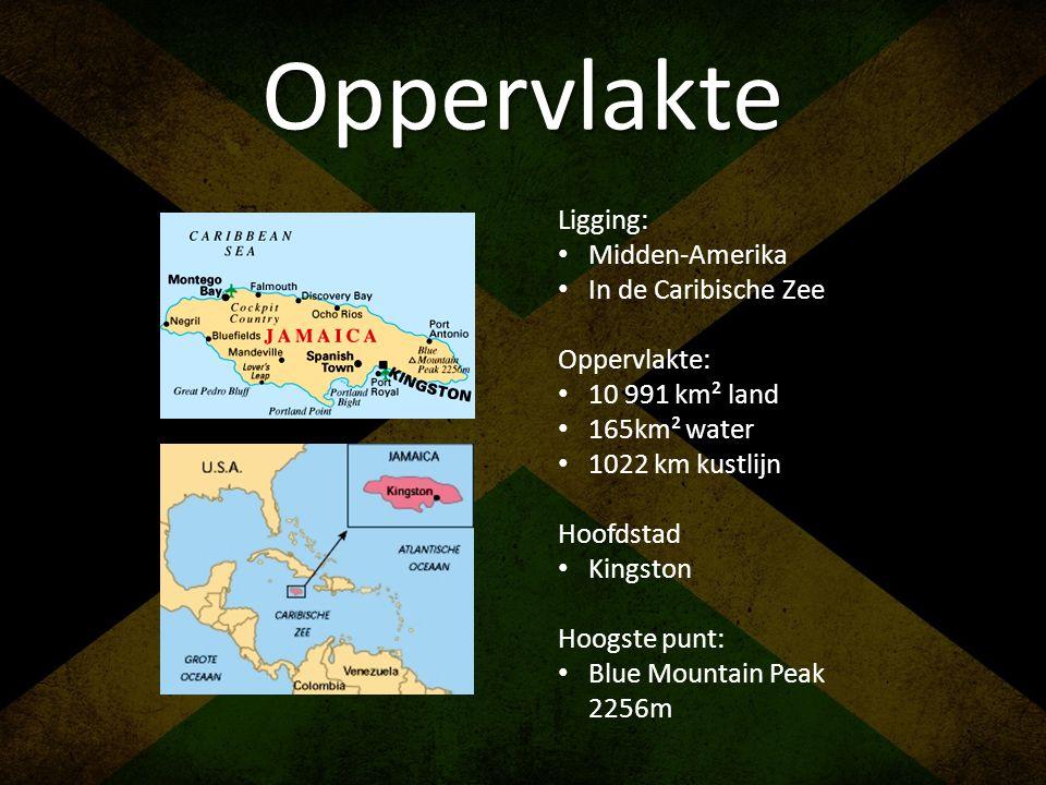 Oppervlakte Ligging: Midden-Amerika In de Caribische Zee Oppervlakte: