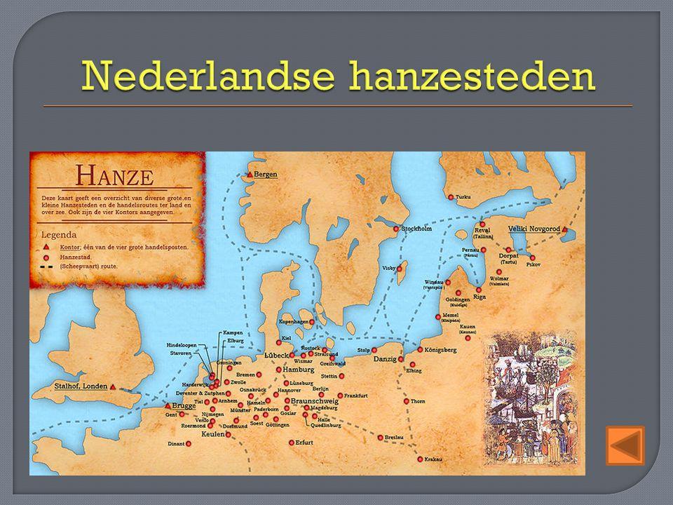 Nederlandse hanzesteden